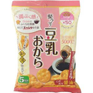 (まとめ買い)豆乳おから煎餅 60g×12セット - 拡大画像