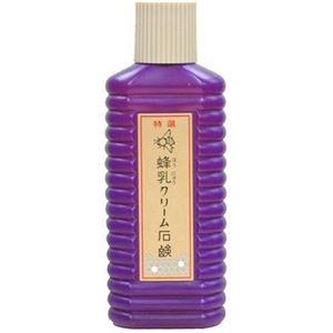 (まとめ買い)蜂乳 クリーム石鹸(特選) 200ml×7セット