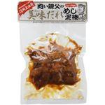 (まとめ買い)肉い親父の美味だれめし泥棒 にんにく醤油味 300g×8セット