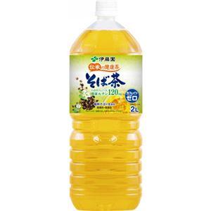 【ケース販売】伊藤園 伝承の健康茶 そば茶 2L×6本