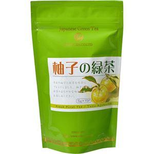 (まとめ買い)水宗園本舗 柚子の緑茶 5g×15袋×12セット