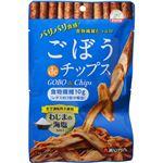 (まとめ買い)あじかん ごぼうdeチップス わじまの海塩味 30g×27セット