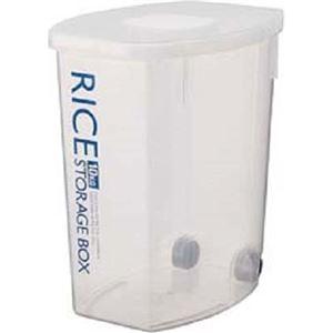(まとめ買い)袋のまんま防虫米びつ 10kg用 計量カップ付 DRF10×2セット - 拡大画像