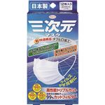 (まとめ買い)三次元マスク ふつう 12枚入×2セット