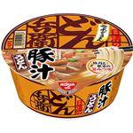(まとめ買い)【ケース販売】日清のどん兵衛 豚汁うどん 99g×12個×3セット