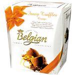 (まとめ買い)ベルジャンチョコレート ココアトリュフ オレンジ 200g×4セット