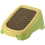(まとめ買い)リッチェル コロル ネコスロープで砂おとし グリーン×2セット