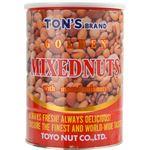 (まとめ買い)TON'S ゴールデンミックスナッツ缶 900g×4セット