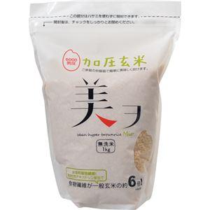 (まとめ買い)加圧玄米 美ヲ(無洗米) 1kg×3セット