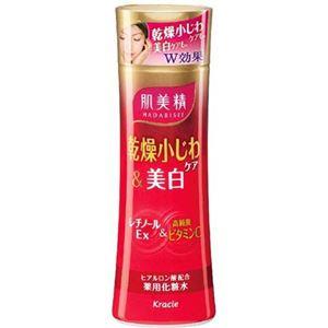 (まとめ買い)肌美精 乾燥小じわケア&美白 薬用化粧水 180ml×3セット