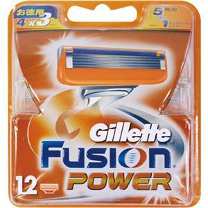 ジレット フュージョン 5+1 パワー替刃 12個入