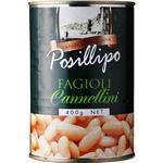 (まとめ買い)ポジリポ カンネッリーニ(白いんげん豆) 水煮 400g×4セット