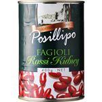 (まとめ買い)ポジリポ ファジョーリ ロッシ キドニー(赤いんげん豆) 水煮 400g×5セット