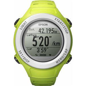 (まとめ買い)エプソン Wristable GPS グリーン SF-110G×2セット