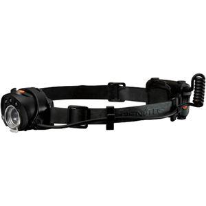 (まとめ買い)GENTOS(ジェントス) ヘッドライト用ラバーバンド リアバッテリータイプ RHB02BK×11セット - 拡大画像