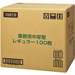 【ケース販売】業務用シート中厚型 レギュラー 100枚×6個