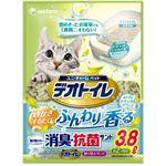 (まとめ買い)デオトイレ ふんわり香る消臭・抗菌サンド 3.8L×3セット