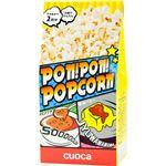 (まとめ買い)クオカ PON!PON!POPCORN コンソメ&醤油バター 66g×18セット