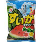 (まとめ買い)【ケース販売】カバヤ すいかキャンディ 94g×10袋×5セット