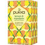 (まとめ買い)パッカハーブス レモン&マンダリン 有機ハーブティー 20袋×4セット