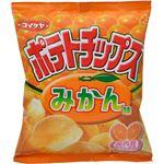(まとめ買い)【期間限定】【ケース販売】コイケヤ ポテトチップス みかん味 50g×12袋×3セット