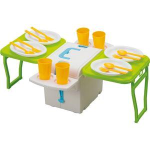 (まとめ買い)イモタニ ウイングクーラーキャリーキューブ(食器付) PFW-36×2セット - 拡大画像