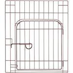 (まとめ買い)リッチェル カスタムペットサークル 単品60入口付 ブラウン×2セット