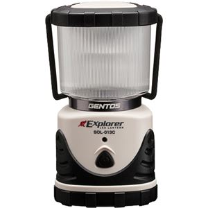 (まとめ買い)GENTOS(ジェントス) LED ランタン エクスプローラー SOL-013C×8セット