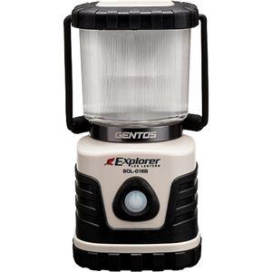 (まとめ買い)GENTOS(ジェントス) LED ランタン エクスプローラー SOL-016B×4セット