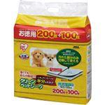(まとめ買い)アイリスオーヤマ クリーンペットシーツ レギュラー ハーフサイズ 300枚×11セット