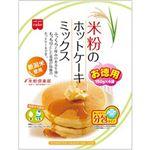 (まとめ買い)HomemadeCAKE 米粉のホットケーキミックス お徳用 600g(150g×4)×8セット