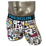 FREEGUN(フリーガン) ボクサーパンツ メンズ アンダーウェア インナー 男性下着 下着 メンズボクサーパンツ ギフト プレゼント 誕生日プレゼント FG28/TRI  840000 (01.ブラック Mサイズ)