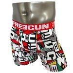 FREEGUN(フリーガン) ボクサーパンツ メンズ アンダーウェア インナー 男性下着 下着 メンズボクサーパンツ ギフト プレゼント 誕生日プレゼント FG28/TRI  840000 (02.レッド Mサイズ)