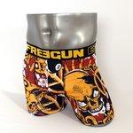 FREEGUN(フリーガン) ボクサーパンツ メンズ アンダーウェア インナー 男性下着 下着 メンズボクサーパンツ ギフト プレゼント 誕生日プレゼント FG27/EIGHT  840001 (01.ブラック Lサイズ)