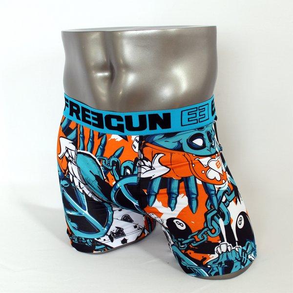 FREEGUN(フリーガン) ボクサーパンツ メンズ アンダーウェア インナー 男性下着 下着 メンズボクサーパンツ ギフト プレゼント 誕生日プレゼント FG27/EIGHT  840001 (02.サックス Mサイズ)f00