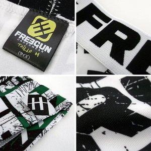FREEGUN(フリーガン) ボクサーパンツ メンズ アンダーウェア インナー 男性下着 下着 メンズボクサーパンツ ギフト プレゼント 誕生日プレゼント FG27/SCRAT  840003 (01.ホワイト Lサイズ) h03