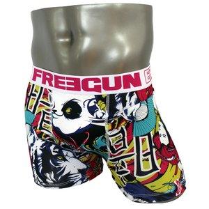 FREEGUN(フリーガン) ボクサーパンツ メンズ アンダーウェア インナー 男性下着 下着 メンズボクサーパンツ ギフト プレゼント 誕生日プレゼント FG28/JAP  840004 (01.ホワイト Lサイズ)
