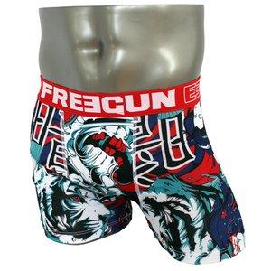 FREEGUN(フリーガン) ボクサーパンツ メンズ アンダーウェア インナー 男性下着 下着 メンズボクサーパンツ ギフト プレゼント 誕生日プレゼント FG28/JAP  840004 (02.レッド Lサイズ)