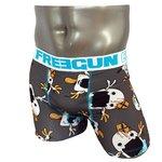 FREEGUN(フリーガン) ボクサーパンツ メンズ アンダーウェア インナー 男性下着 下着 メンズボクサーパンツ ギフト プレゼント 誕生日プレゼント 840005 FG28 CRI (01.ホワイト L)