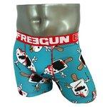 FREEGUN(フリーガン) ボクサーパンツ メンズ アンダーウェア インナー 男性下着 下着 メンズボクサーパンツ ギフト プレゼント 誕生日プレゼント 840005 FG28 CRI  (02.レッド L)
