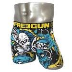 FREEGUN(フリーガン) ボクサーパンツ メンズ アンダーウェア インナー 男性下着 下着 メンズボクサーパンツ ギフト プレゼント 誕生日プレゼント 840008 FG28 GRR  (01.ブラック L)