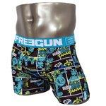 FREEGUN(フリーガン) ボクサーパンツ メンズ アンダーウェア インナー 男性下着 下着 メンズボクサーパンツ ギフト プレゼント 誕生日プレゼント 840009 FG27 XBOTS (01.サックス M)