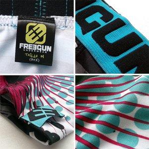 FREEGUN(フリーガン) ボクサーパンツ メンズ アンダーウェア インナー 男性下着 下着 メンズボクサーパンツ ギフト プレゼント 誕生日プレゼント 840010 FG27 BMXER (02.サックス L) h03