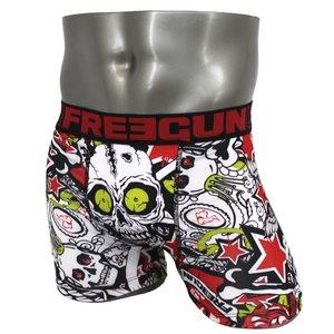 FREEGUN(フリーガン) ボクサーパンツ メンズ アンダーウェア インナー 男性下着 下着 メンズボクサーパンツ ギフト プレゼント 誕生日プレゼント 840025 FG26 LACK (M)