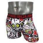 FREEGUN(フリーガン) ボクサーパンツ メンズ アンダーウェア インナー 男性下着 下着 メンズボクサーパンツ ギフト プレゼント 誕生日プレゼント 840025 FG26 LACK (L)