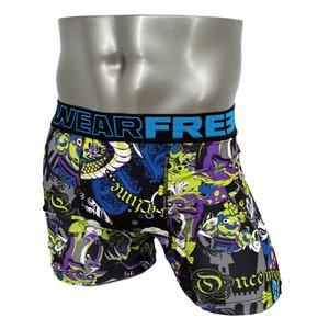 FREEGUN(フリーガン) ボクサーパンツ メンズ アンダーウェア インナー 男性下着 下着 メンズボクサーパンツ ギフト プレゼント 誕生日プレゼント 840030 FG24 CON (L)
