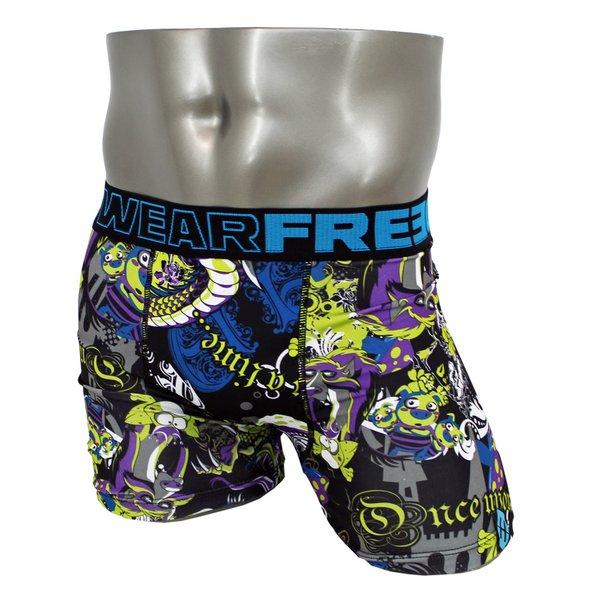 FREEGUN(フリーガン) ボクサーパンツ メンズ アンダーウェア インナー 男性下着 下着 メンズボクサーパンツ ギフト プレゼント 誕生日プレゼント 840030 FG24 CON (L)f00