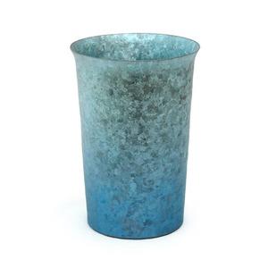 HORIE チタン二重タンブラー 窯創り 広口 290cc グラデーションブルー