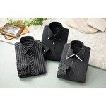 ドレスシャツ3枚組 50221(ブラック系) 3Lサイズ