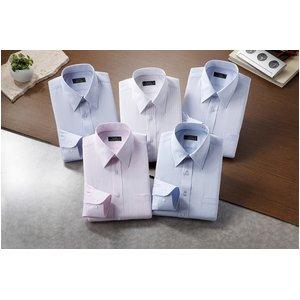 銀座・丸の内のOL100人が選んだワイシャツセット Mサイズ - 拡大画像
